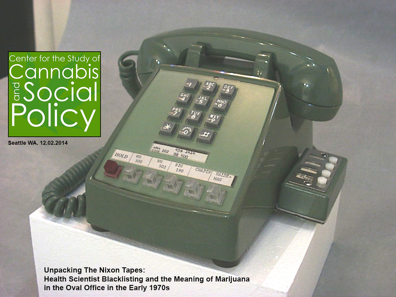 White House Phone 1971