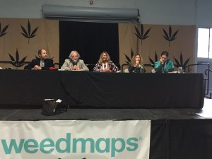 Dr. Sexton presenting at the 2015 Emerald Cup in Santa Rosa, CA.