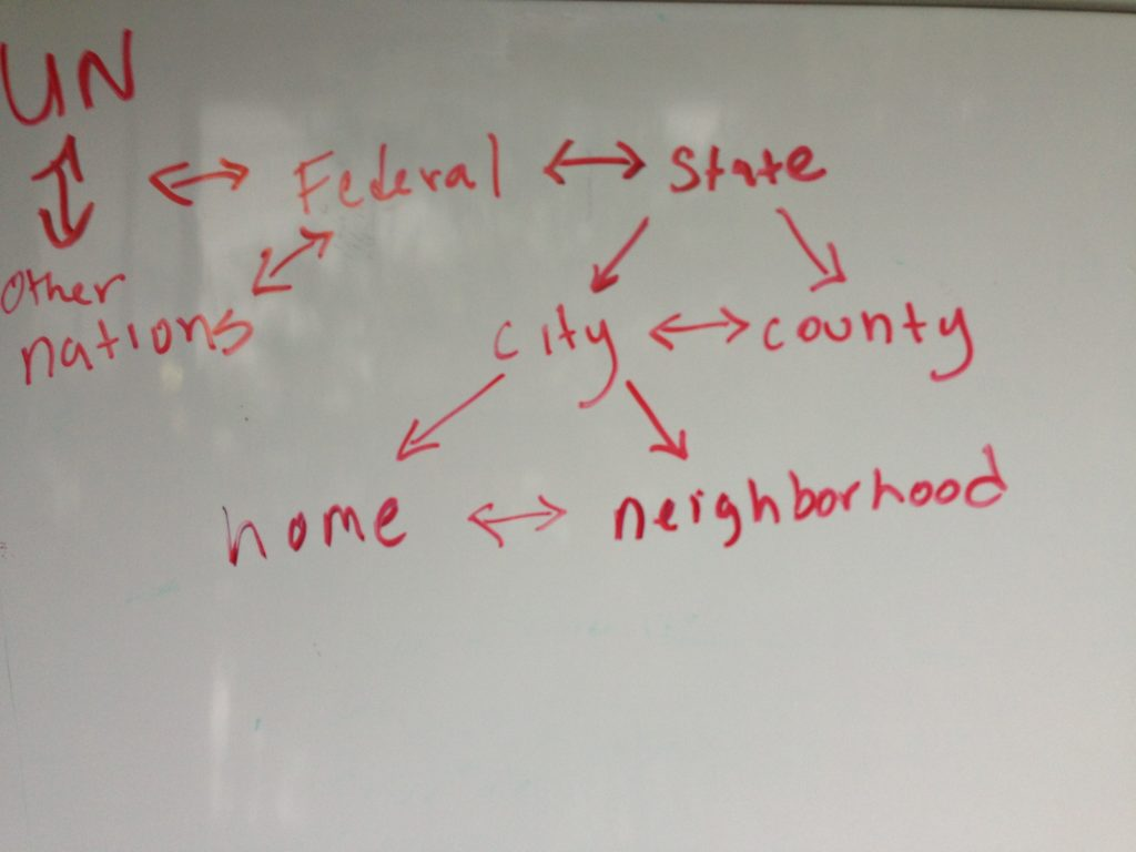 Policy Ecology Relationships, visualized